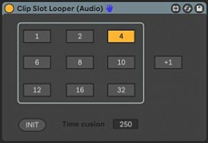 Clip Slot Looper for Abelton Live Audio Tracks