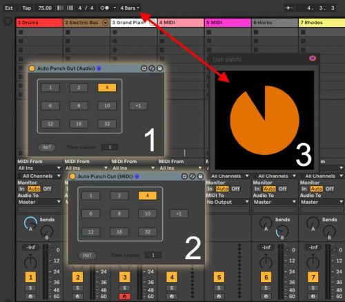 Guitar Pedal Looper Package for Ableton Live Suite